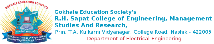 R. H. Sapat College Of Engineering, Management Studies And Research | Electrical Engg.